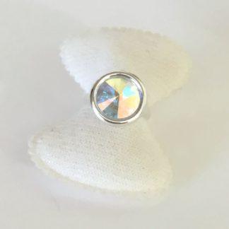 Bague Argent crystal Swarovski